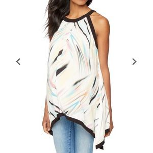Pea in the Pod Tie Detail Printed Maternity Top